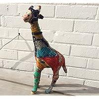 Giraffa in piedi 40cm di altezza–Rajasthan animali colorati (402002)