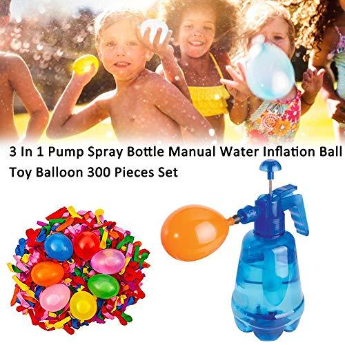 IrahdBowen Wasserbomben Pumpe Wasserballon Füllstation Ballon Füllstation Wasserballon Füller Mit 300 Ballons Für Kindergeburtstagsfeiern Geschenk Spielzeug Special