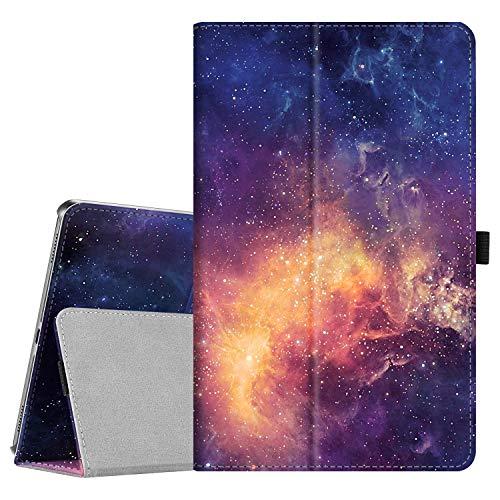 Fintie Hülle für Samsung Galaxy Tab A 10,1 T510/T515 2019 - Premium Kunstleder Folio Schutzhülle mit Standfunktion und Stylus-Halterung für Samsung Galaxy Tab A 10.1 Zoll 2019 Tablet, Die Galaxie