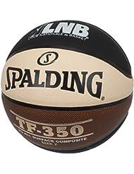 Spalding Lnb Tf350 Ballon de Basket-Ball Mixte