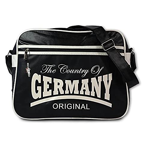 SilberDream Umhängetasche The Country of Germany Kunststoff, PVC schwarz OTG100W