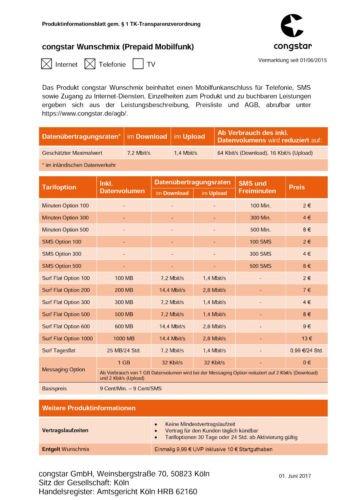 Congstar Prepaid wie ich will mit 10 Euro Guthaben (Handy Prepaid SIM Karte D1 Netz Telekom) tmobile Netz xtra (Prepaid Tmobile Handys)