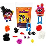 Toiing Scrunchies - Mr. Droopoy And Friends Construction Set For Kids With Innovative Pieces As Building Blocks And Accessories