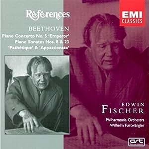 """Beethoven : Concerto pour piano n° 5 """"L'Empereur"""" - Sonates pour piano n°  8 """"Pathétique"""" et n° 23 """"Appassionata"""""""