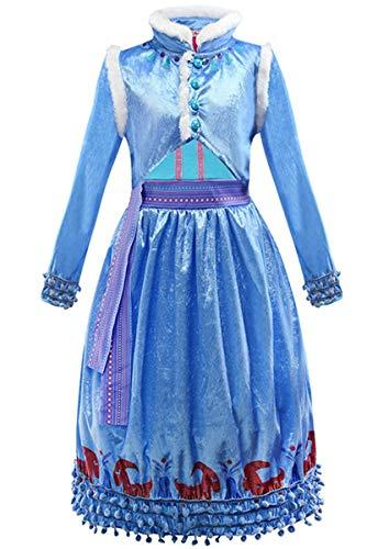 Frozen Dress Up Kleidung - EMIN Kinder Mädchen Prinzessin Kleid Frozen