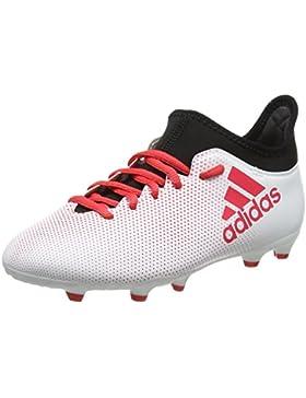 adidas X 17.3 FG J, Botas de Fútbol Unisex Niños