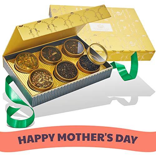 VAHDAM, GLOW - Tee-Geschenkset, 6 Ausgezeichnete Tees   Beste Geschenk für Mama   OPRAH's Lieblingstee-Marke   Mutter Geschenke   Mama Geschenk   Geschenk für die Mutter   Beste Muttertag Geschenk