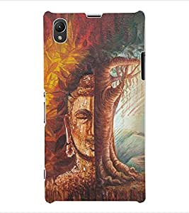 ColourCraft Lord Buddha Back Case Cover for SONY XPERIA Z1 - C6903 / C6906