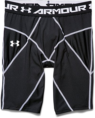 Under Armour, Pantaloni corti Uomo HG, Nero (Black), M
