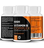 Vitamin B Complex Max Strength | 120 Powerful Vitamin B Complex Tablets | FULL 4 Month Supply | Contains ALL 8 B Vitamins - Vitamins B1, B2, B3, B5, B6, B12 Vitamins, D-Biotin & Folic Acid | Safe And Effective | Best Selling Energy Boosters | Manufactured