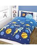 Rockets Kinder/Jungen Bettwäsche Set (Einzelbett) (Bunt)