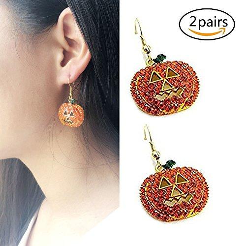 ass Ohrringe Halloween Ohrringe für Frauen 2 Paare (Frauen Paare Halloween-kostüme)