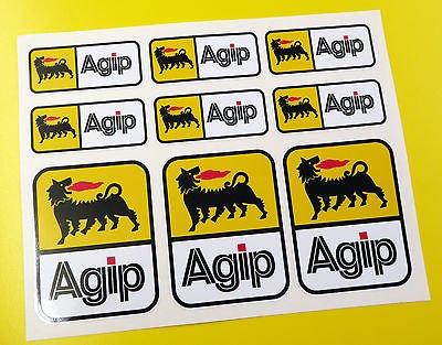 agip-optik-motorrad-helm-aufkleber-sticker-verkleidung-werkzeugbox-gabeln