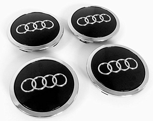 Preisvergleich Produktbild Leichtmetallrad-Zentrierkappen,  Schwarz,  69 mm