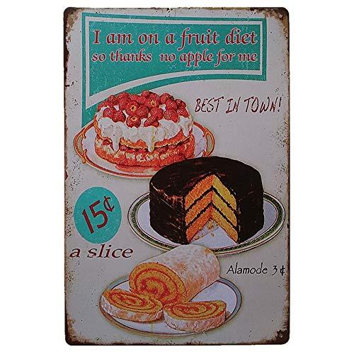 Mitlfuny Weihnachten Home TüR Dekoration 2019,Vintage Metall Blechschild Poster Plaque Bar Pub Club Cafe Home Platte Wanddekor Kunst