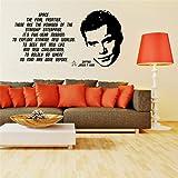 stickers muraux nuage blanc Mode classique STAR TREK JAMES T KIRK décalcomanie WILLIAM SHATNER Chambre à coucher