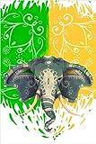 Desconocido DIGITAL ESTOR 'Rolläden Full Farbe durchscheinend Elefant Indien (160x180)