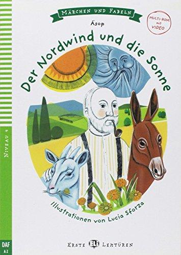 Young ELI Readers - Marchen und Fabeln: Der Nordwind und die Sonne + Video Mul [VHS] -