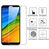 #9: Xiaomi Redmi Note 5 Touch Sensitive 9H Hardness Screen Tempered Glass Screen Protector with Installation Kit [Force Resistant Up to 22 Pounds] Case Friendly for Redmi Note 5 - 5.99 Inch 2018 released version - [Lifetime Replacement Warranty] (Redmi Note 5 Pro, Trasparent (0.1 mm))