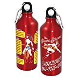 ICUP Wonder Woman Workout Aluminum Water Bottle, 20-Ounce
