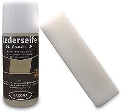 Pacona, sapone per pelle liscia, ruvida, nabuk e scamosciata,100ml, concentrato