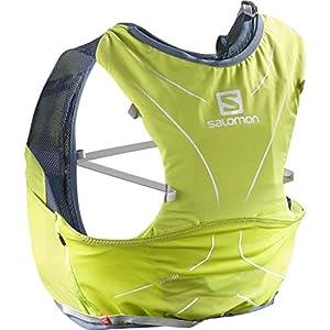 Salomon, Sehr leichte Rucksackweste für Bergläufe, Hiking oder Radfahren, 5 L, 36 x 20 cm, 310 g, ADV SKIN 5 SET