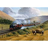 Wentworth 250 Piece Finely Cut Wooden Jigsaw - LMS The Royal Scot, Tebay Troughs, 1935