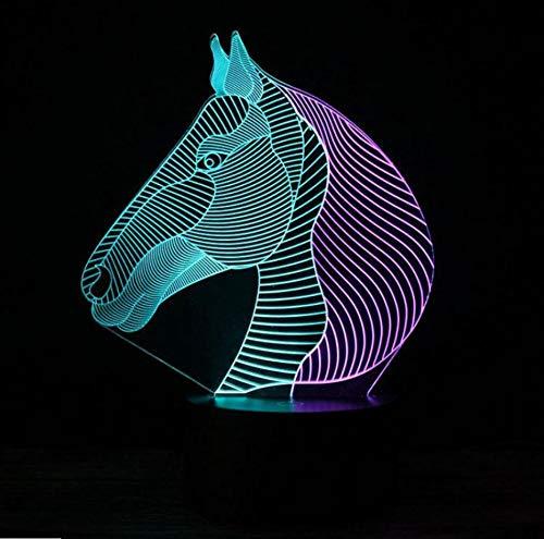 Lámpara Usb 3D Lámpara Instrumento De Violín 7 Colores Toque Dormitorio Luces Atmósfera Luz Regalos De La Novedad ()