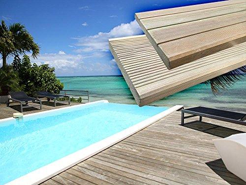 Habitat et jardin - Lames de terrasse en bois Autoclave - 25.40 m²