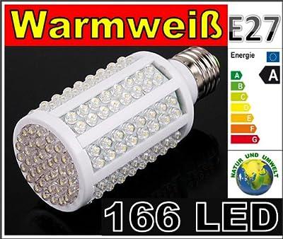 LED Lampe 60 LED Energiesparlampe Led Birne Leuchtmittel - E27 Warmweiss 11 watt