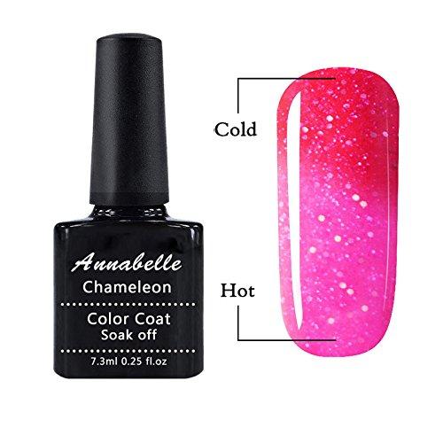 Annabelle Vernis semi permanent cameleon Gel UV LED Nail Art Vernis à Ongles Soak Off Manucure 7.3ml 5739