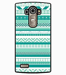 ColourCraft Tribal Pattern Design Back Case Cover for LG G4
