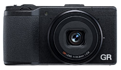 Ricoh Pentax GR 16.2 MP Point and Shoot Camera (Black) with 1x