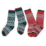 XuxMim Baby-Jungen-Mädchen-Winter-nette beiläufige Socken-mittlere Rohr-Socken-Weihnachtsgeschenke