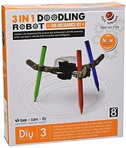 CEBEKIT CEBEKIT-C9805 Robot Pintor Kit, Color Amarillo (C9805