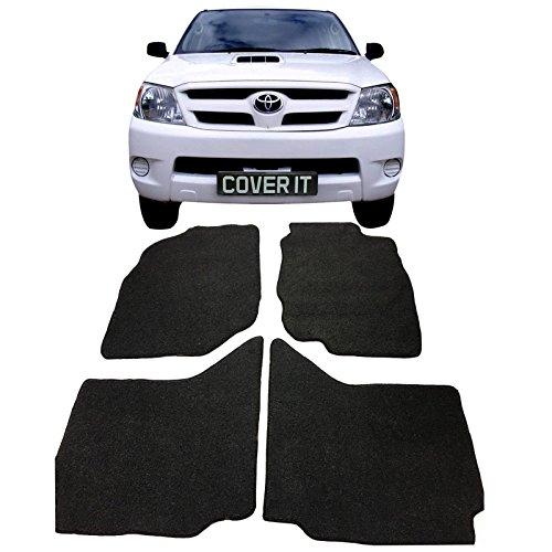 Di alta qualità, per Toyota Hilux, modelli 2005-2012 Tappetini su