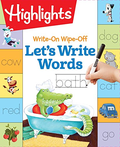 Write-On Wipe-Off Let's Write Words (Highlights(TM) Write-On Wipe-Off Fun to Learn Activity Books)