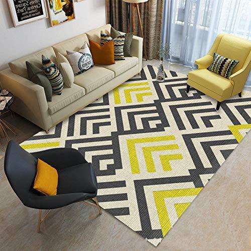 jasmineXDLstore alfombras comedorAlfombra Moderna para Sala de Estar en Varios tamaños, Alfombra,...