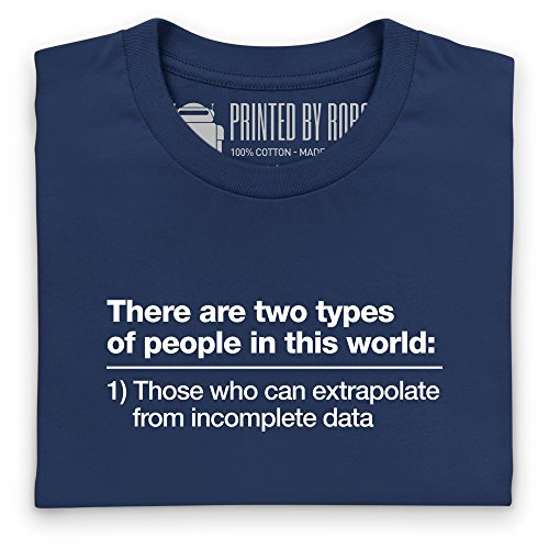 Incomplete Data T-Shirt, Damen Dunkelblau