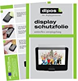 DBPower 9,5 Zoll Tragbarer DVD-Player Protection ecrán - 3x dipos Films de protection d'écran mat