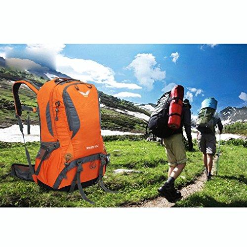 Outdoor-Wandern Multifunktions-Fl¨¹gel Rucksack wasserdichten Outdoor-Paketzustellung Covers Orange