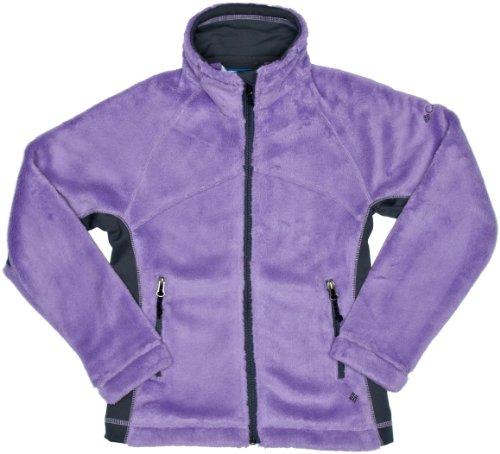 Columbia Kinder Fleecejacke Pearl Plush Full Zip, heliotrope, 164 - Pearl Plush Fleece