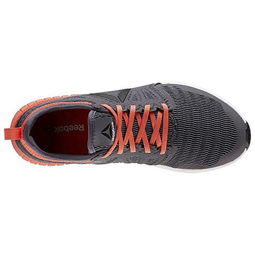 Reebok Zprint 3d, Scarpe da Trail Running Donna Grigio (Ash Grey / Fire Coral / Black / White)