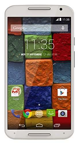 Motorola Moto X (2. Generation) Smartphone entsperrt 4g 11,4cm (: 5,2Zoll–16GB–Android - Entsperrt Motorola Handy X