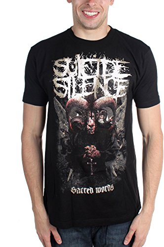 Suicide Silence, Stronger Than Faith-Maglietta da uomo nero Large