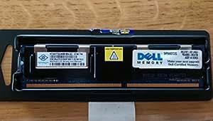 Dell 2GB PC2-5300F DDR2-667 2RX4 ECC, NT2GT72U4NB1BN-3C (DDR2-667 2RX4 ECC)