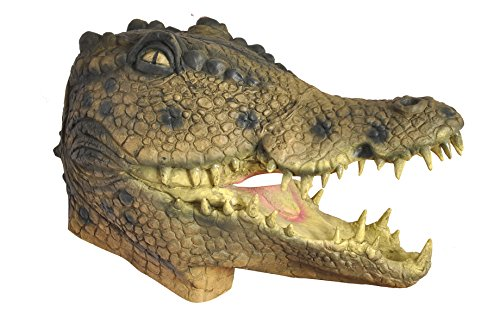 Ciao 28134–Alligator Maske aus Latex, (Alligator Maske)