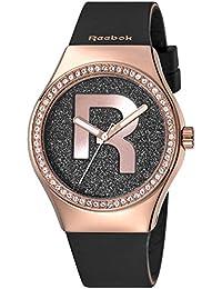 Reebok RC-IDD-L2-S3IB-B3 - Reloj de cuarzo para mujer, correa de silicona color negro
