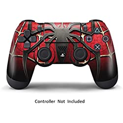 Skins for PS4 Controller - Vinyl Decals for Playstation 4 Games - Skin Sticker Covers for Sony PS4 Wireless Remote Dualshock Controller Wireless Remote Dualshock Controller - Widow Maker Spider