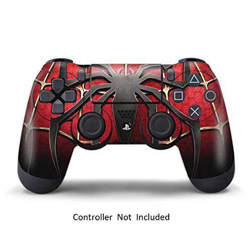 Ps4 pelli playstation 4 adesivi giochi ps4 joystick ps4 controller dualshock 4 vinile decalcomanie - spider man